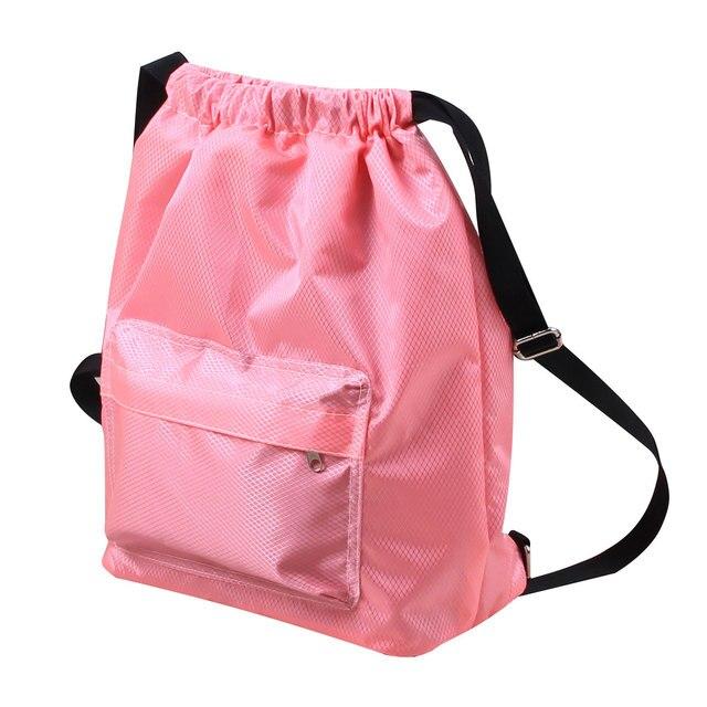 Водонепроницаемый рюкзак для плавания, сумки для плавания, спортивная сумка на шнурке, нейлоновая сумка на плечо, сухая влажная сумка для пл...