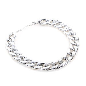 Image 4 - Small Dog Snack Chain Teddy French Bulldog Necklace Silvery/Golden Pet Accessories Dogs Collar