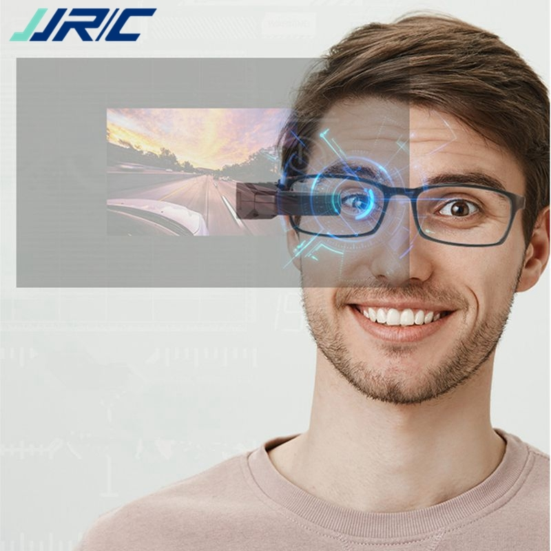 JJRC FPV 003 5.8GHz 40CH Full Frequency Band Auto searching FPV Goggles Monocular Glasses w/ Battery For RC Drone Spare Parts