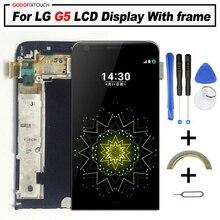 Оригинальный ЖК-дисплей 5,3 дюйма для LG G5, сенсорный экран с рамкой H870, H850, H840, H860, F700, H868, H860N, сменный экран для LG G5, ЖК-дисплей