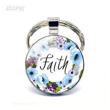 Dropshipping God Is Within Her She Will Not Fall Bible Verse Keychain Inspirational Quote Christian Scripture Key Chain Rings(China)