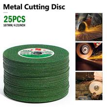 цена на 25PCS Cutting Discs 100 Angle Grinder Stainless Steel Metal Grinding Wheel Resin Double Mesh Ultra-Thin Polishing Piece