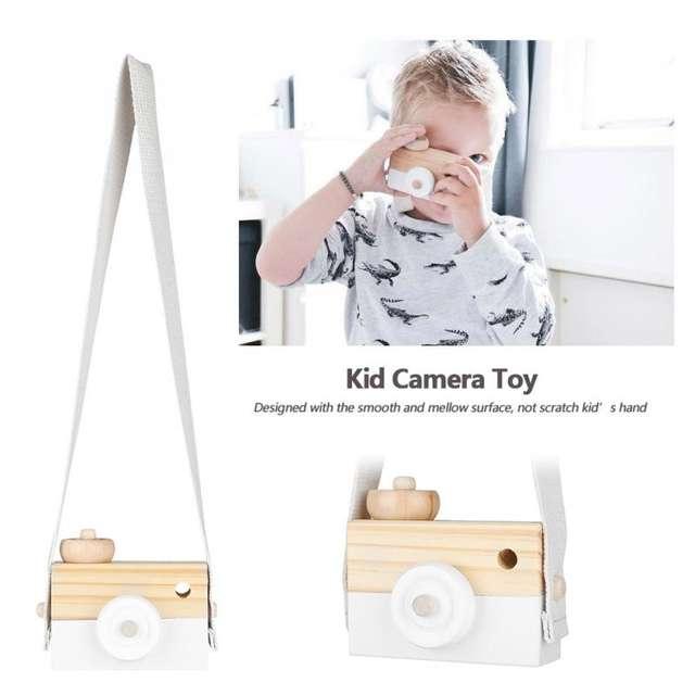 Cámara de juguete en madera – montessori