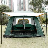 8 10 Person 2 Bedroom 1 Living Room Outdoor Camping Tents Suitable for 8 10 person Hiking Green Tents with Rainfly Shelter