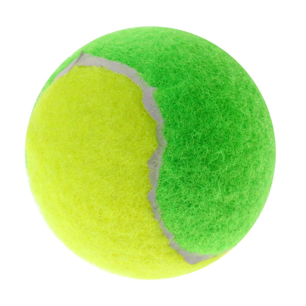 1 Piece 64mm Pressureless Rubber Junior Training Tennis Ball Dog Pet Toy Ball Youth Training Tennis Balls