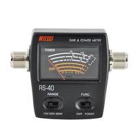 Rs 40 Swr/Medidor De Energia 140 150 Mhz 430 450 Mhz 200 W Para Walkie Talkie Nissei Adaptadores AC/DC     -