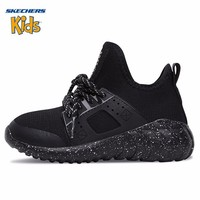 Skechers New Arrival Boy Shoes Comfortable New Pattern Ink One Foot Set Mesh Slippery Running Sneakers #97694L