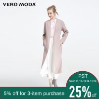 Veromoda Brand silm contracted design delicate clipping elegant overcoats women| 317327521