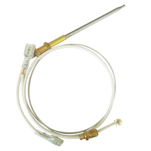 400mm  Universal M6X0.75 Head Tip With M8X1 End Nuts Gas Water Heater Thermocouple  earth star m10 1 hole 2 95mm gas water heater nozzle m8x1 nozzle promotion price