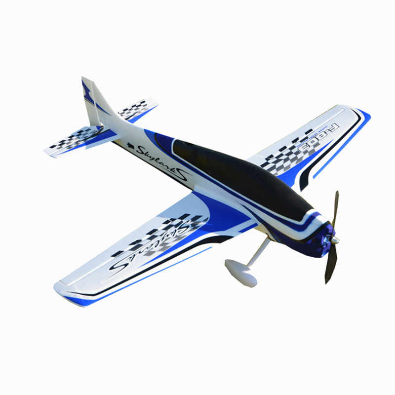 модели 950mm размах крыльев приводимого с помощью электропривода F3A ексакоптер FLV RC вертолет влево/вправо комплект/PNP