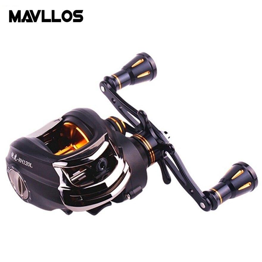 Mavllos Tiger Saltwater Fishing Casting Reel 16BB Speed Ratio 6 3 1 Line Capacity 0 26mm