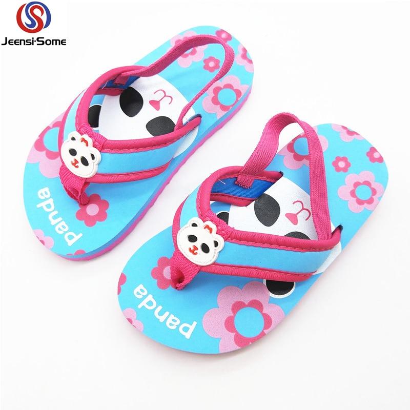 Beach Slippers Kids Flip Flops Girls