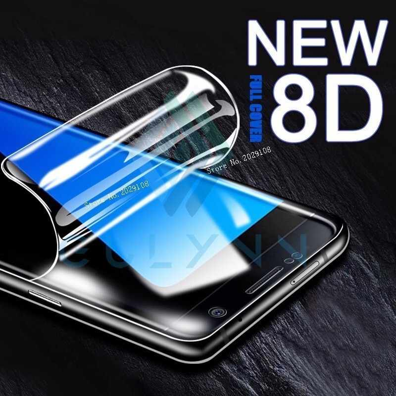 8D Full Cover Screen Protector Soft film For Samsung A6 A8 J4 J6 Plus 2018 HD Hydrogel film For J3 A8s A8 A9 Star S10 10E Cover