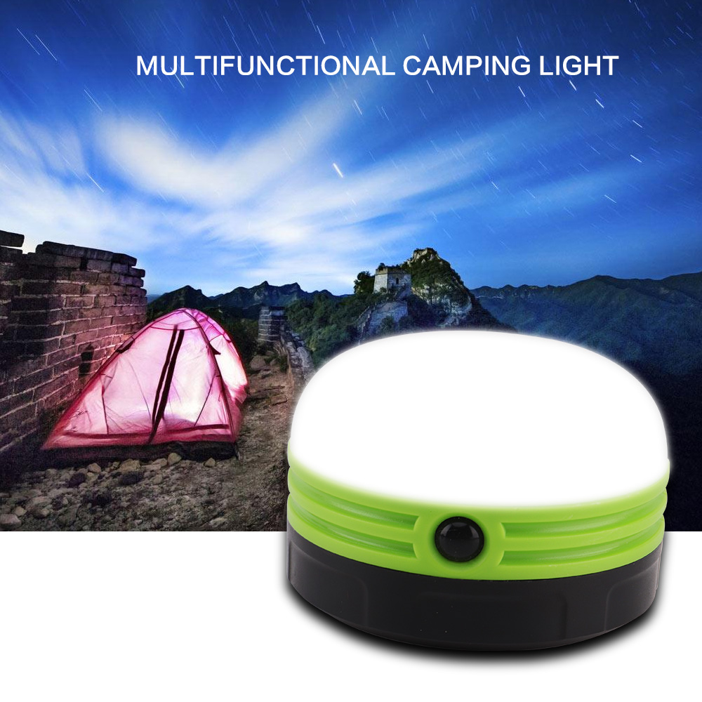 New Lightweight 3W Portable Bright LED Camping Lantern Flashlight Mini Outdoor Tent Lamp Emergency Light Flexible Handle D25