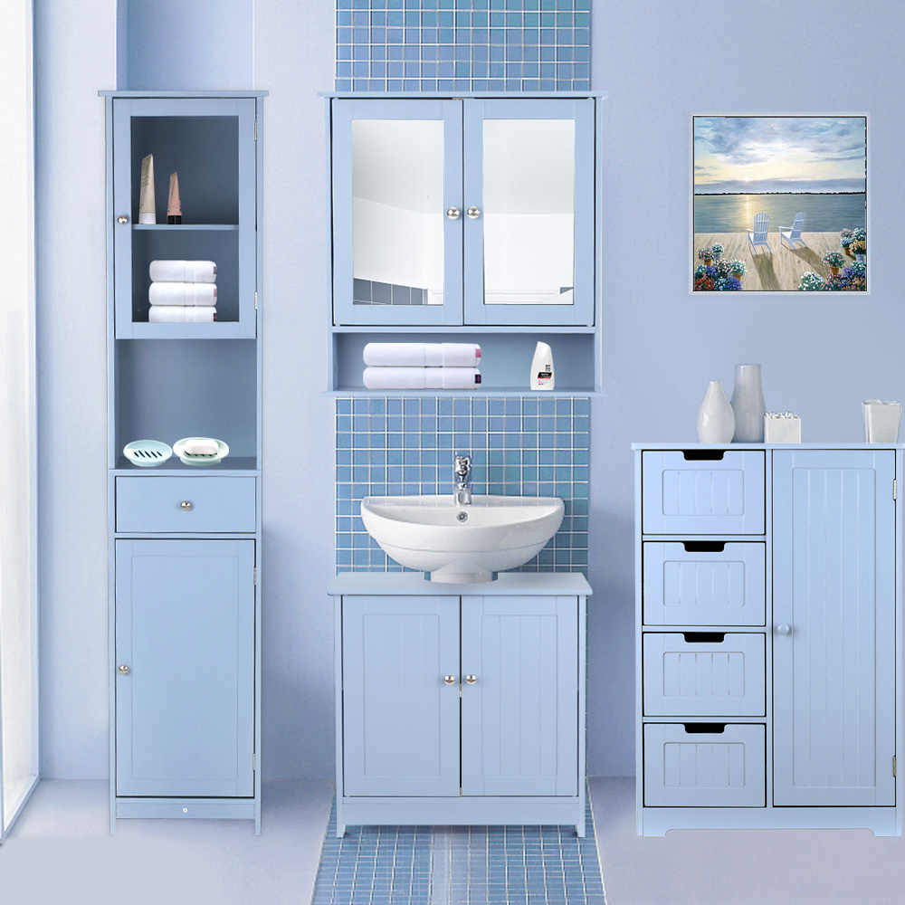 Modern Under Sink Storage Cabinet With Doors Bathroom Vanity Furniture 2 Layer Storage Organizer Bathroom Products Storage Box Aliexpress,Blue And White Decorating Ideas For Party