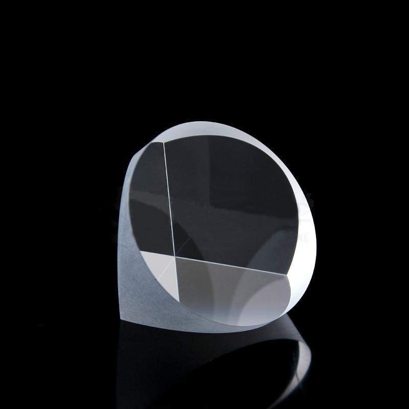 Optical Glass Quartz Pyramid Prism 50mmx39mm Physics Refractor Light Spectrum Optical Experiment Instruments Optics