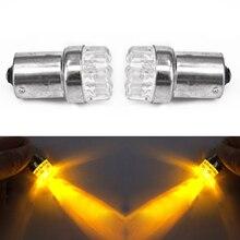 Alta qualidade 4 pcs 9 12 v 1156 ba15s SMD LED Âmbar Lâmpadas Luz de Freio Cauda Do Carro Lâmpada Reversa
