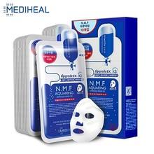 Mediheal לחות קוריאני פנים מסכת פנים גיליונות מזין הידוק מיצוק מעלית שמן מים מאוזן לטיפוח העור, 25ml * 10pcs