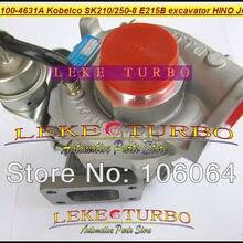 Turbo 24100-4631A 241004631A 24100-4631 761916-5003 S Турбокомпрессор для KOBELCO SK210-8 SK250-8 E215B экскаватор для HINO JO5E 5.1L