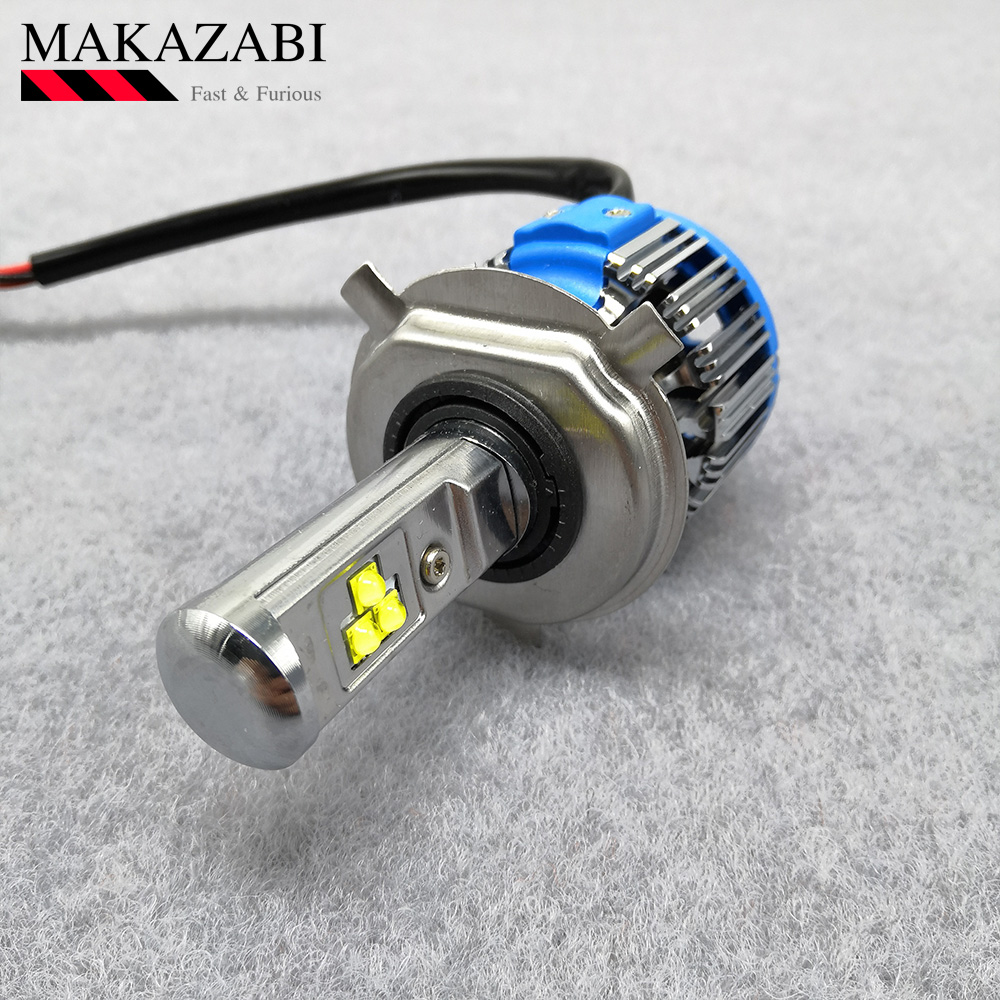 Universal Motorcycle <font><b>LED</b></font> <font><b>Headlight</b></font> Bulb 6000K For KAWASAKI z1000 z750 z300 <font><b>ninja</b></font> <font><b>300</b></font> versys 1000 <font><b>ninja</b></font> zx-6r For SUZUKI etc. image