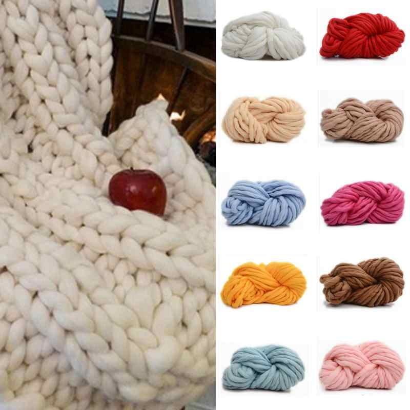 Detail Feedback Questions About Hot Sale Chunky Wool Yarn Super Soft