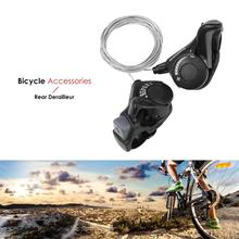 купить Bicycle 21 Speed ABS Trigger Shifters MTB Mountain Bike Transmission Shift Levers Derailleur Cable Bicycle Derailleur Parts 194 недорого