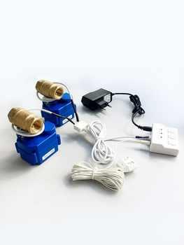 HIDAKA 100dB Home Security Alarm Water Leak Detector with Motion 6m Sensor & BSP NPT valve & Eu Plug US Plug(DN15&2pcs Valves ) - DISCOUNT ITEM  0% OFF All Category