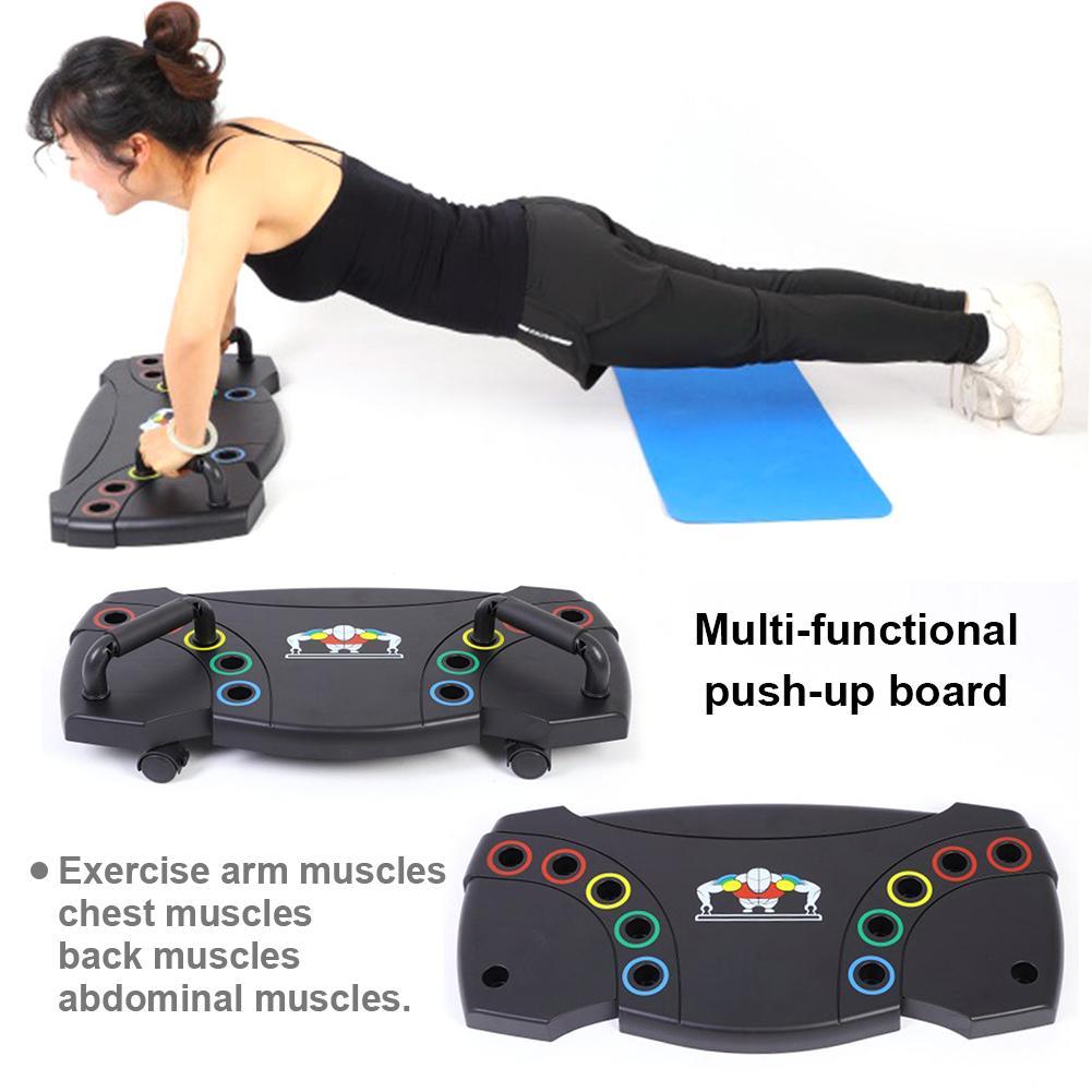 2019 Neue Multifunktionale Push-up Unterstützung Board Bauch Fitness Übung Gym Ausrüstung Bauch Muskel Trainer Übung Werkzeug äRger LöSchen Und Durst LöSchen