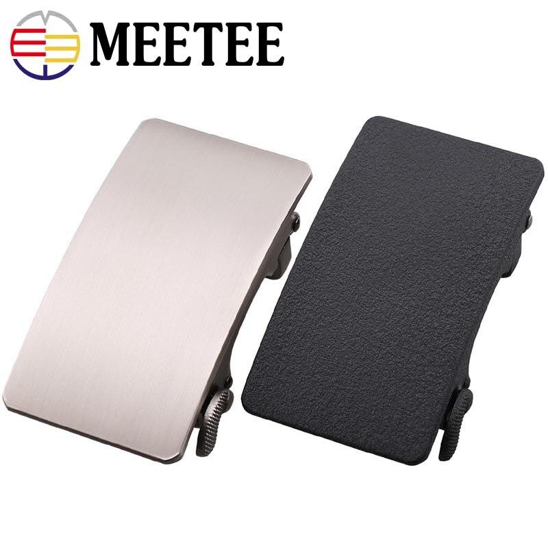 Fashion Men Metal Belt Buckles Automatic Buckle For Belt 34-36mm Waistband Belt Head DIY Leathercraft Jeans Accessories