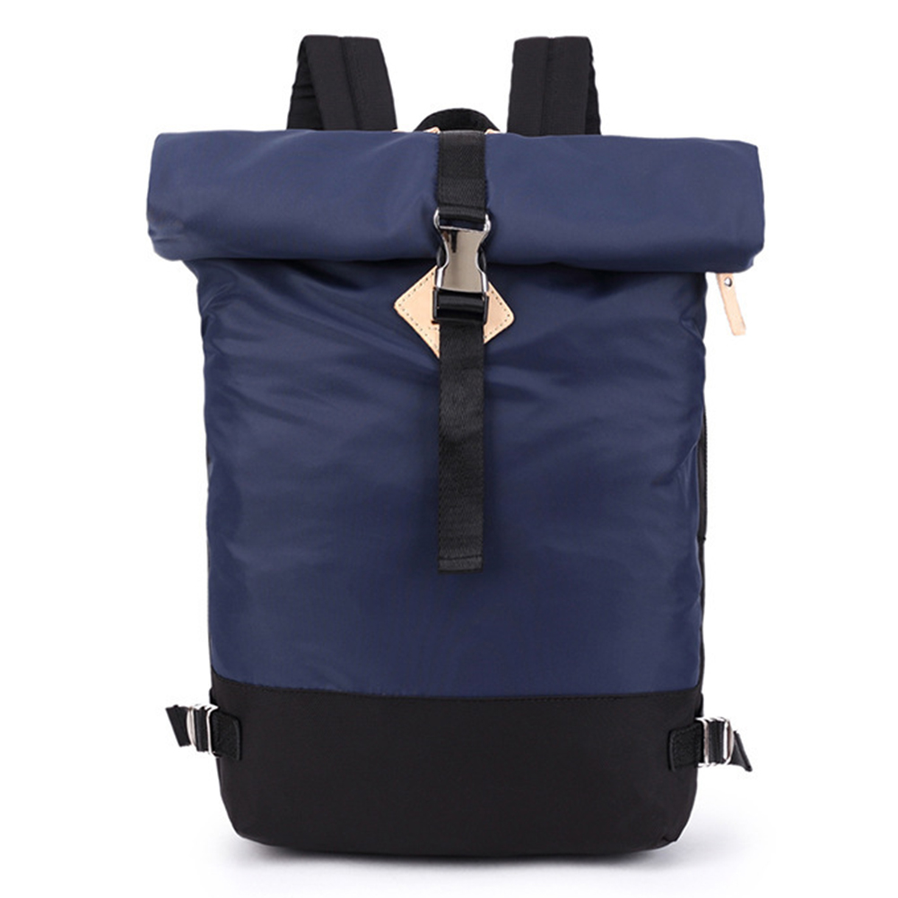 Solid Color Casual Backpack Men Business Roll Case Women College School Bag Travel Rucksack Fashion Backpack #1128Solid Color Casual Backpack Men Business Roll Case Women College School Bag Travel Rucksack Fashion Backpack #1128
