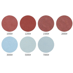 Image 3 - 60pcs Set Sandpapers 125mm/5 Inch 1000/1500/2000/3000/5000/7000 Grit Sanding Paper Discs Hook Loop Sand Papers High Quality
