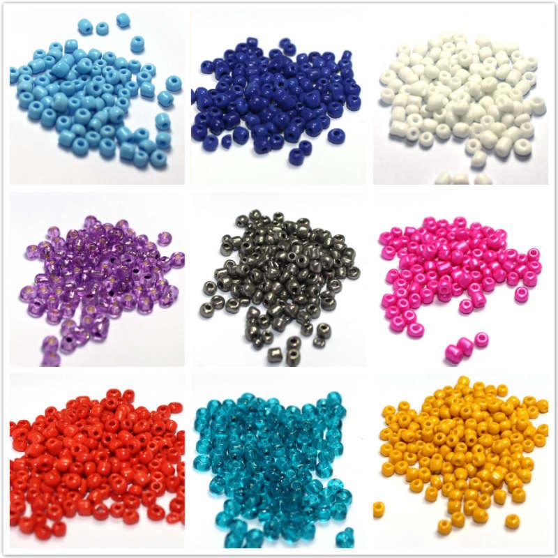 50g Beading Glass Beads Multi Mix Czech Glass Beads