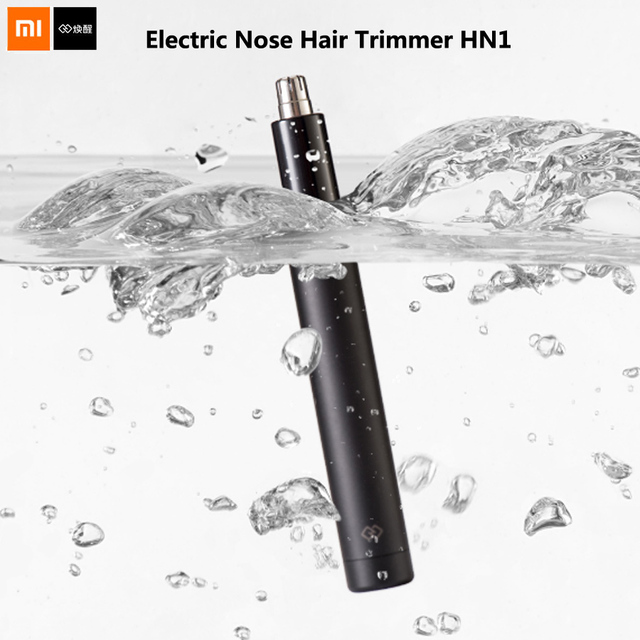 Xiaomi Mijia Huanxing Electric Nose Hair Trimmer Cutter Blade Body Wash Portable Mini Waterproof Safe For Family Daily Use