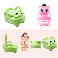 Children Baby Potty Training Cows Boy Girl Portable Toilet Seat Infant Potty Toilet Pot YJS Dropship