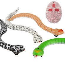 Simulation 16 Long Rechargeable Remote Control Snake Rattlesnake Animal Trick Terrifying Mischief Toy never shake a rattlesnake