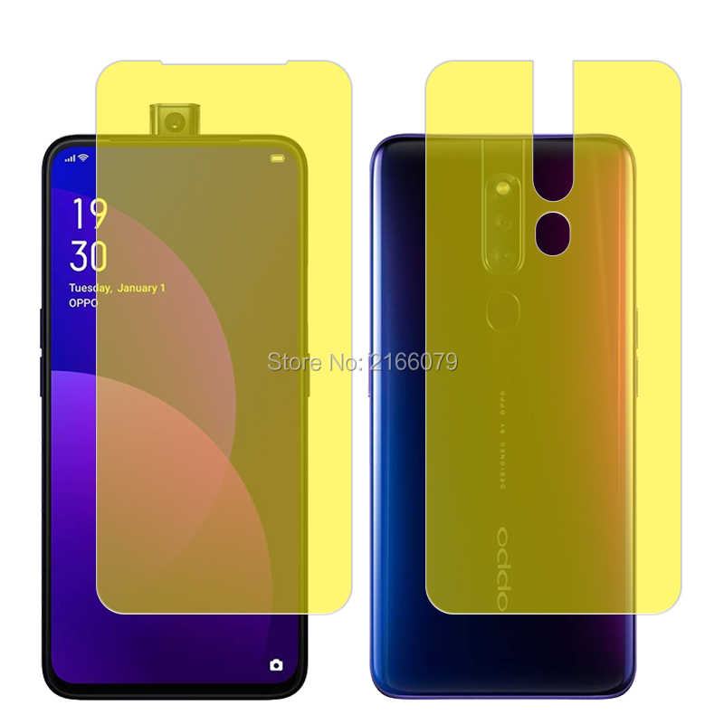 LGYD for 25 PCS AG Matte Frosted Full Cover Tempered Glass for Oppo F11 Pro