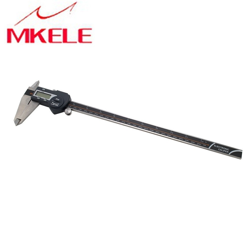 0 300mm Models DigitalHigh precision Electronic Vernier Caliper Micrometer Digital Economic type Caliper Stainless Steel IP54 in Calipers from Tools