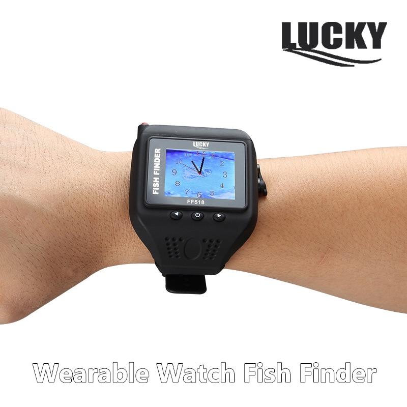 Здесь можно купить  Lucky Watch Fishfinder Wearable Wireless Fish Finder For Underwater Fishing 180Feet(60M) Range Depth Echo Sounder Sonar Detector  Спорт и развлечения