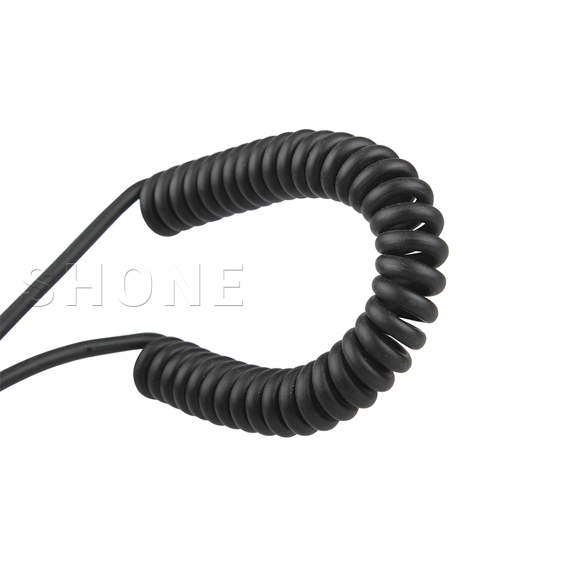 Cable Length: 50pcs, Color: Black Computer Cables 90 Degree Elbow USB2.0 Revolution 90 Degree Bend T-Type Public Data line Extension Cable Spring line can be Stretched to 1.2m