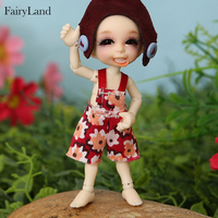 Realpuki Ara BJD Dolls 1/13 Long Ears Smile Fun Unique Quirky High Quality Toy For Girls Best Gifts FL Fairyland