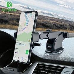 Floveme uchwyt samochodowy na telefon dla iPhone X XS Max 7 8 Plus uchwyt samochodowy stojak na telefon na uchwyt na telefon do telefonu w samochód obsługuje Smartphone Voiture w Uchwyty i podstawki do telefonów komórkowych od Telefony komórkowe i telekomunikacja na
