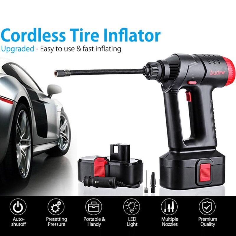 2019 ortable compresseur d'air pompe numérique gonfleur de pneu DC 12 volts voiture P 160 PSI voiture compresseur d'air pour voiture motos vélos