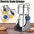 550 Вт 800 г электрическая зерношлифовальная машина для травы зерновая мельница мучной кофе пшеничная зерновая мельница для тонкого измельче...