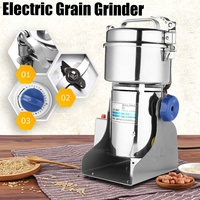 550W 800g Electric Herb Grain Grinder Cereal Mill Flour Coffee Wheat Cereal Grinding Pulverizer Food Machine Grinder Tool