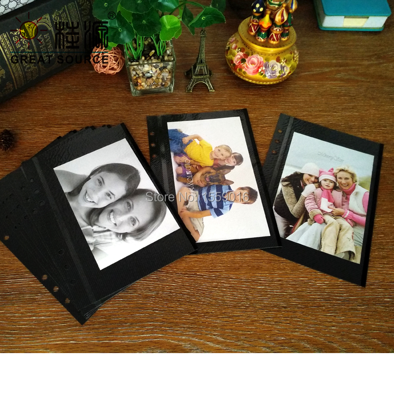 Photo Album Leaf DIY Photo Leaf For A5 Binder Folder 15 Sheets Per Set Double Side Using