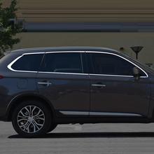 Окно снаружи Excent Авто декоративной отделкой Чехлы для мангала стайлинга автомобилей Яркий декоративные блестки 17 18 Mitsubishi Outlander
