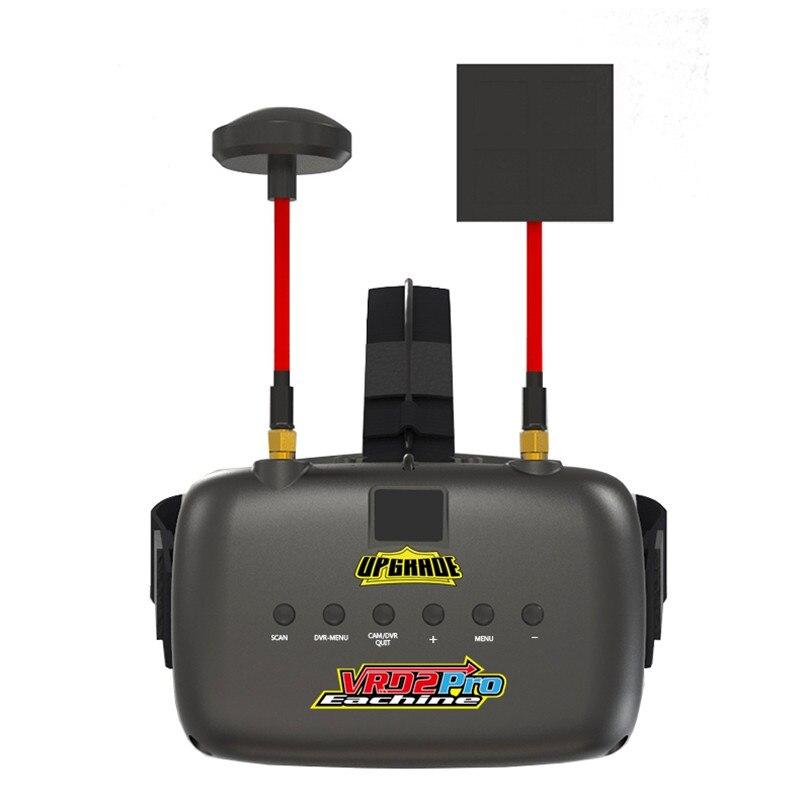 Eachine VR D2 Pro 5 pouces 800*480 40CH 5.8G diversité FPV lunettes w/DVR lentille réglable lunettes vidéo pour FPV quadrirotor Drone