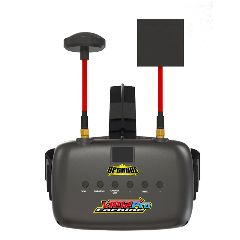 Eachine VR D2 Pro 5 pulgadas 800*480 40CH 5,8g diversidad gafas FPV w/DVR ajustable de la lente gafas de vídeo para FPV Quadcopter Drone