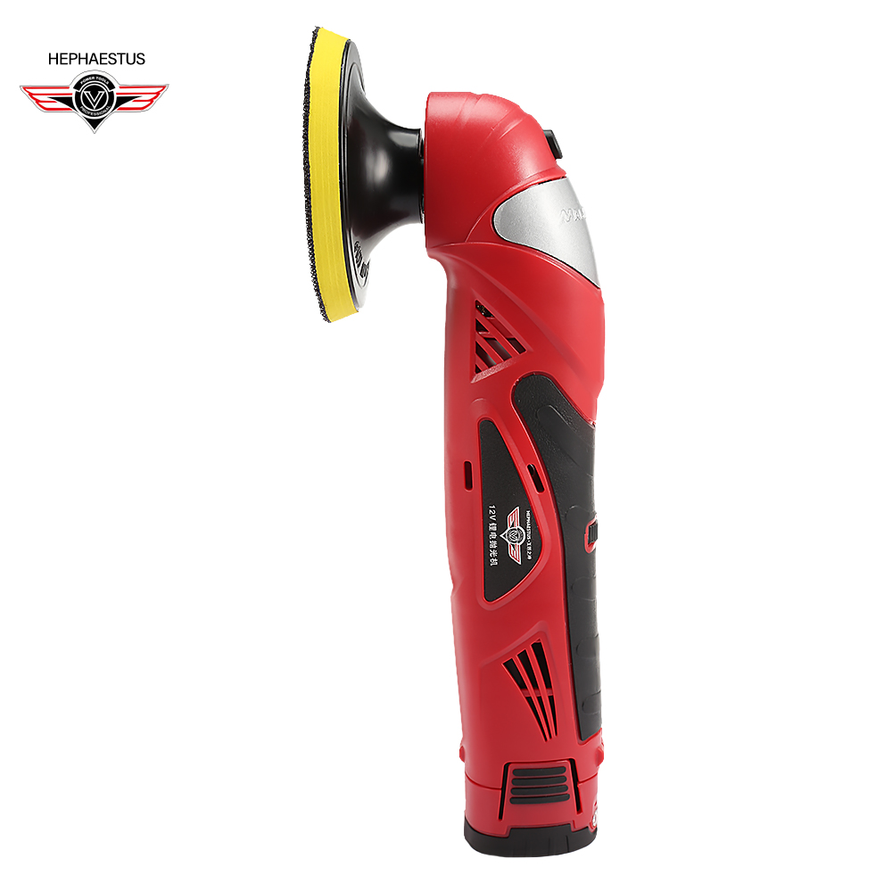 M9202 Cordless Rechargeable Polishing Waxing Machine Car Polisher Safe Adjustable Power Tools For Car Maintenance Handheld ToolM9202 Cordless Rechargeable Polishing Waxing Machine Car Polisher Safe Adjustable Power Tools For Car Maintenance Handheld Tool