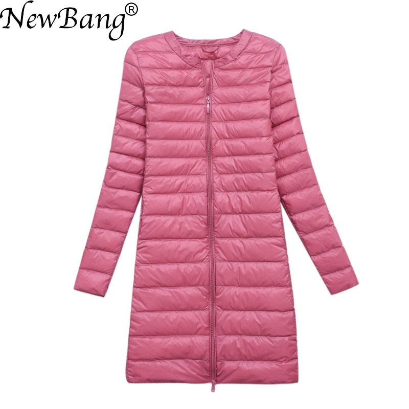 NewBang Brand Down jacket female Long Duck Down Jacket Women 